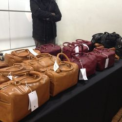 Leather Bags, $170