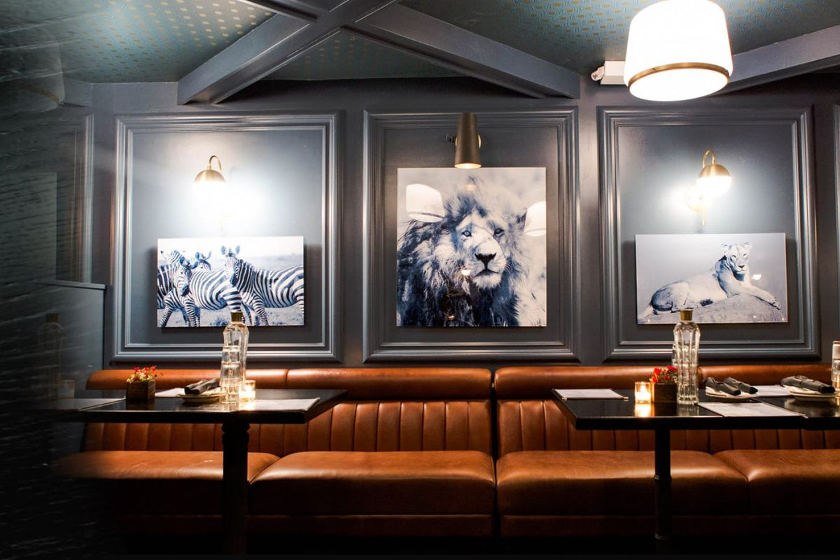 the dining room at dutch freds photo via dutch freds - Hells Kitchen Restaurant