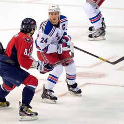 Ovechkin and Callahan Prepare for Contact