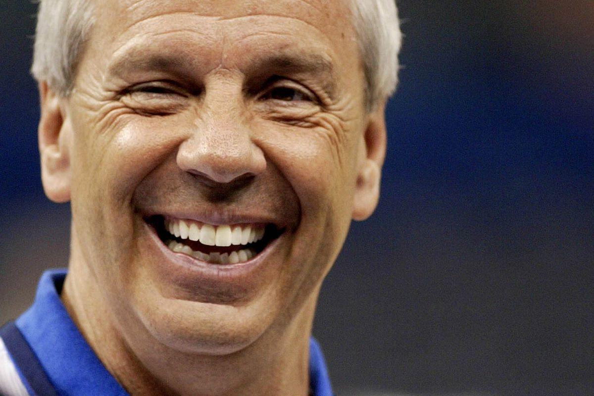 Roy Williams laughs