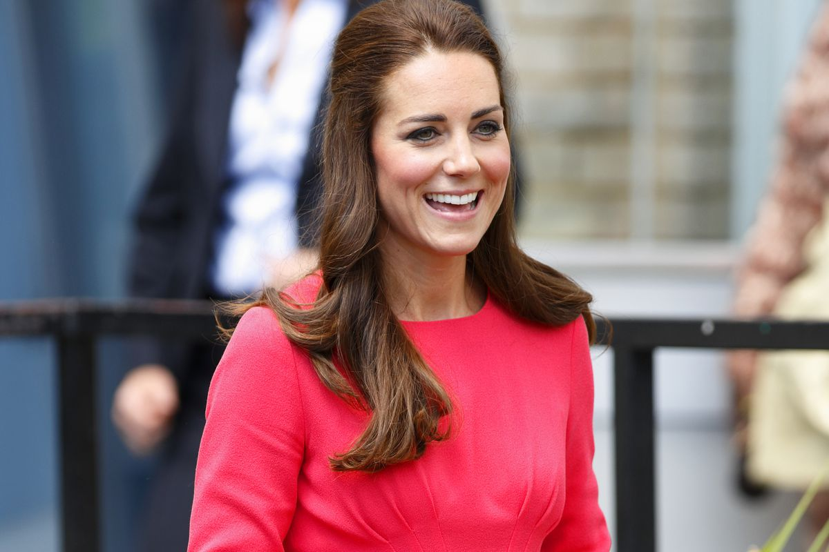 Kate Middleton in a Goat dress.