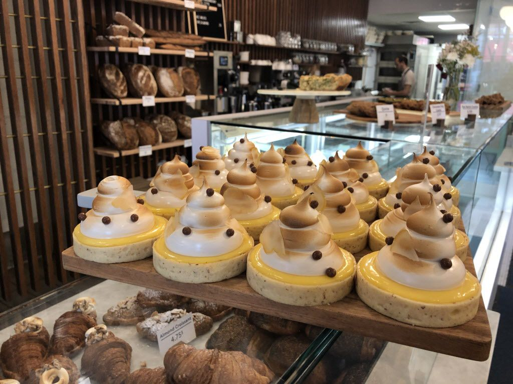 Freshly baked passion fruittarts at the pastry counter at Lost Larson. Breads and pastries are baked throughout the day to ensure peak freshness. | Ji Suk Yi/Sun-Times