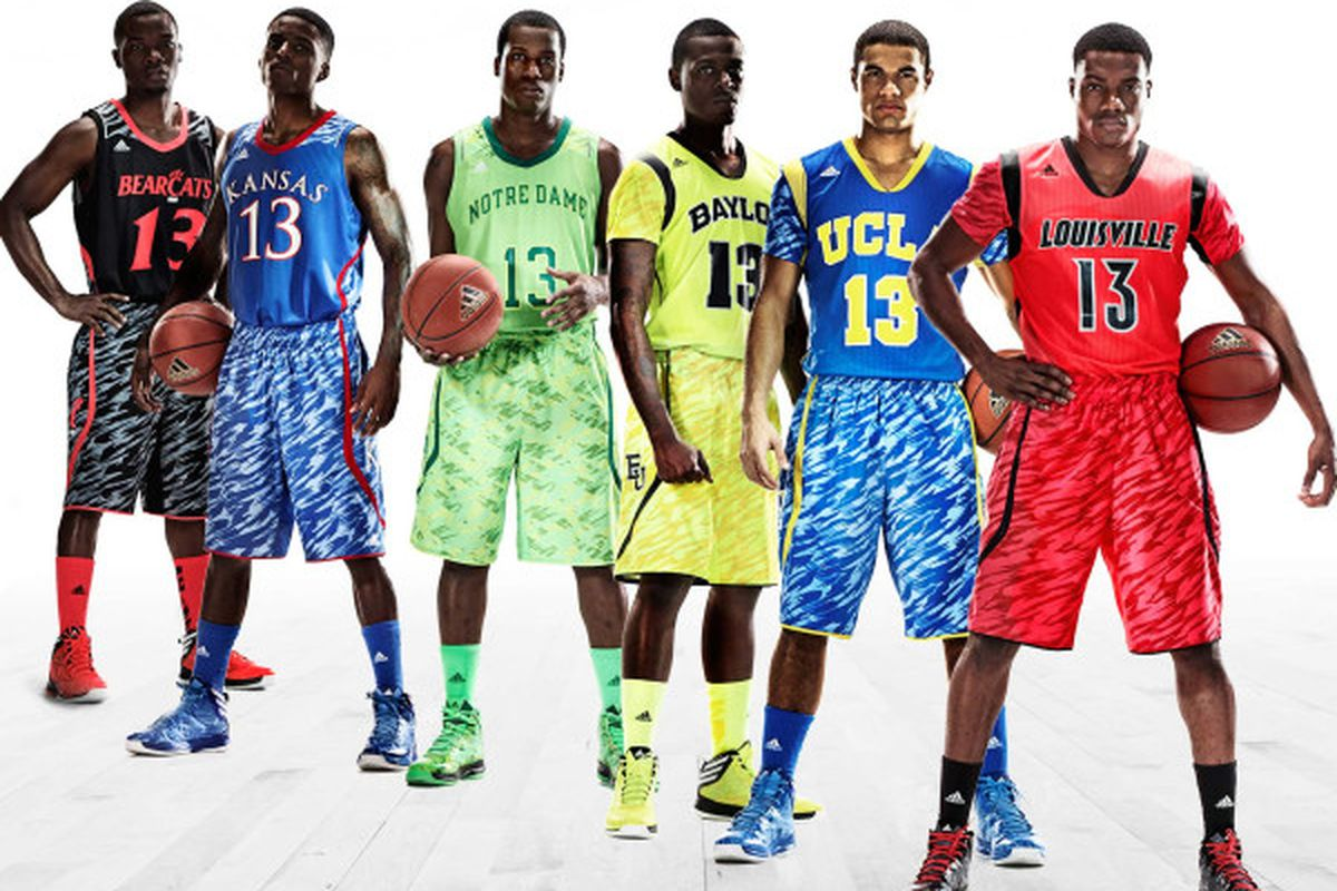 780474ef3f7 Adidas NCAA Tournament jerseys now have sleeves AND Zubaz - SBNation.com