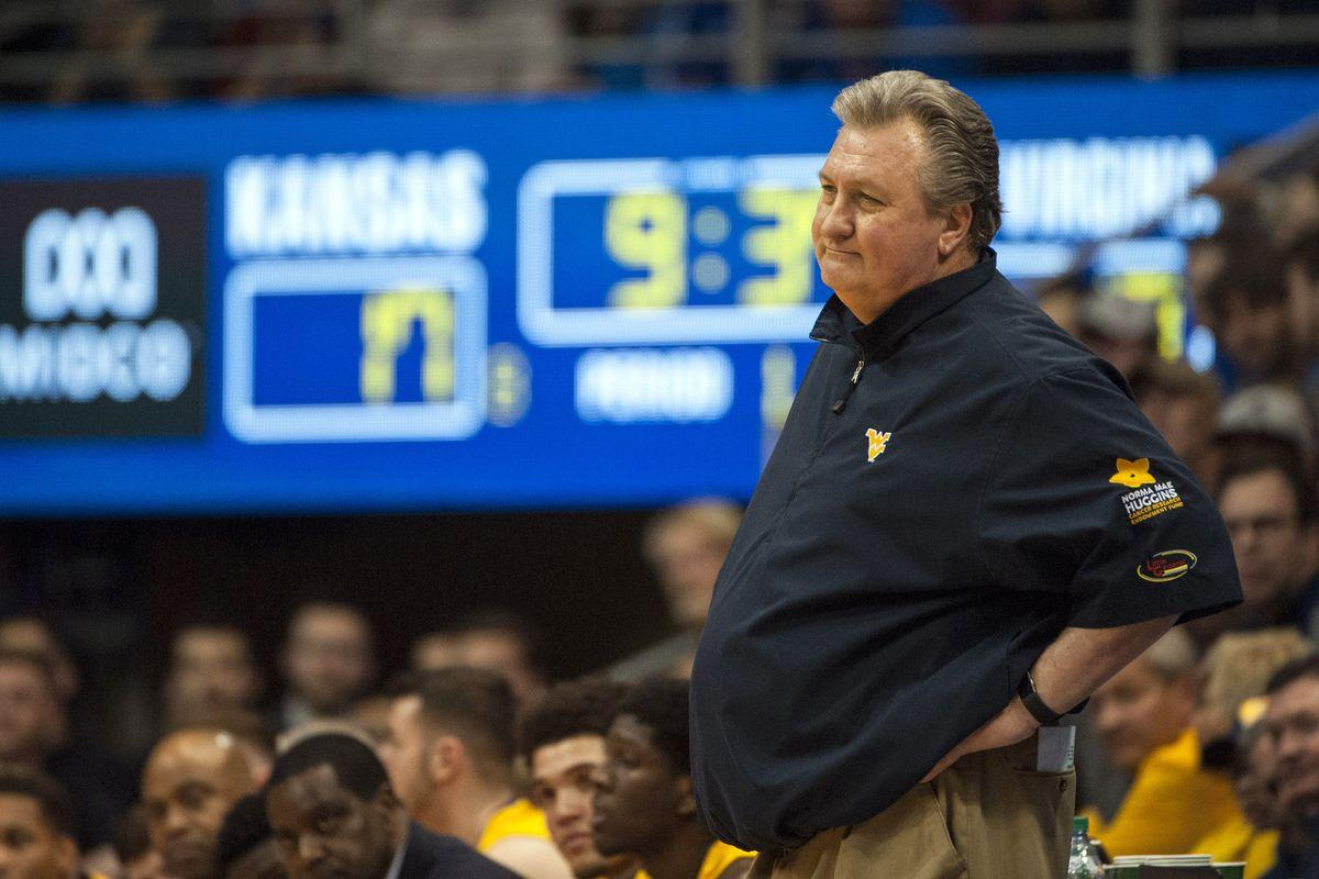 NCAA Basketball: West Virginia at Kansas