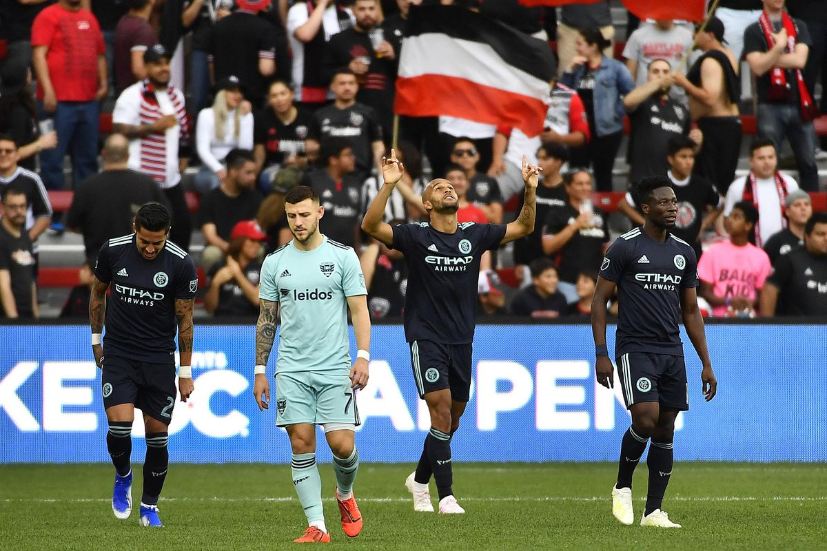NYCFC ends winless drought in 2-0 win over D.C. United