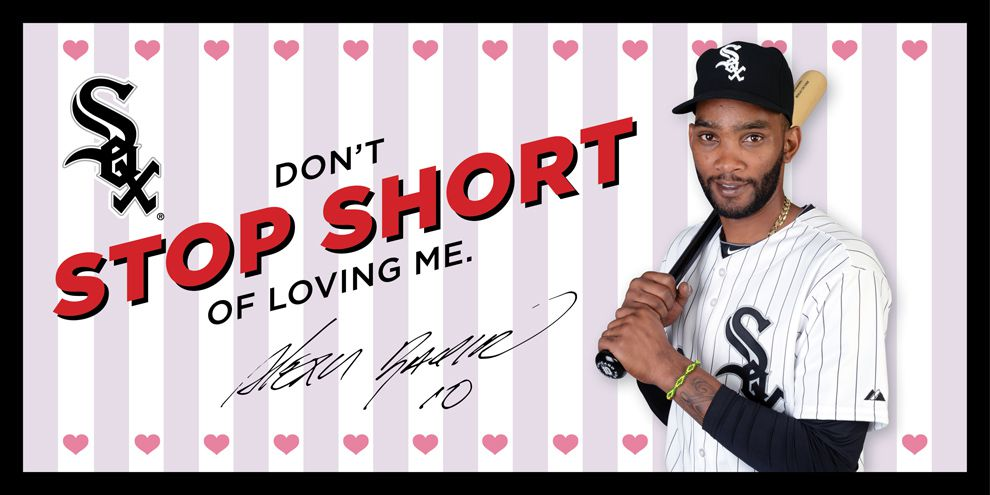 Valentine's Day Card Alexei Ramirez