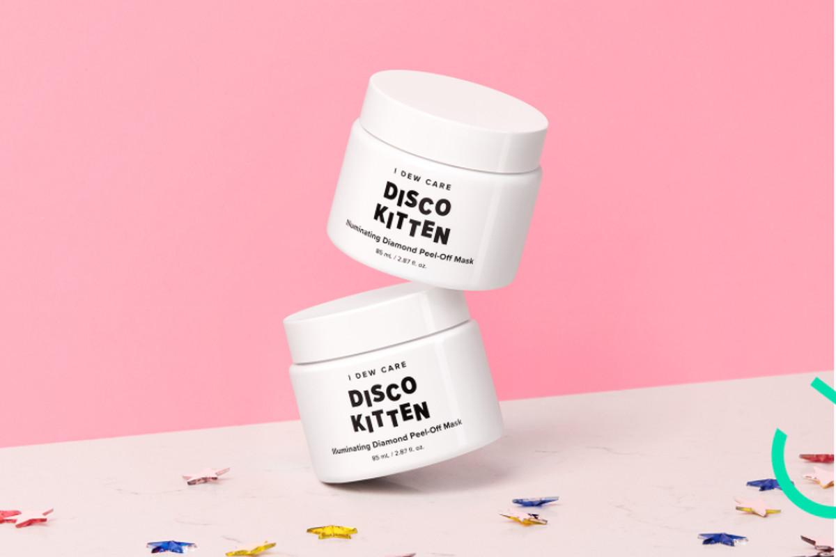 Two jars of Disco Kitten masks.