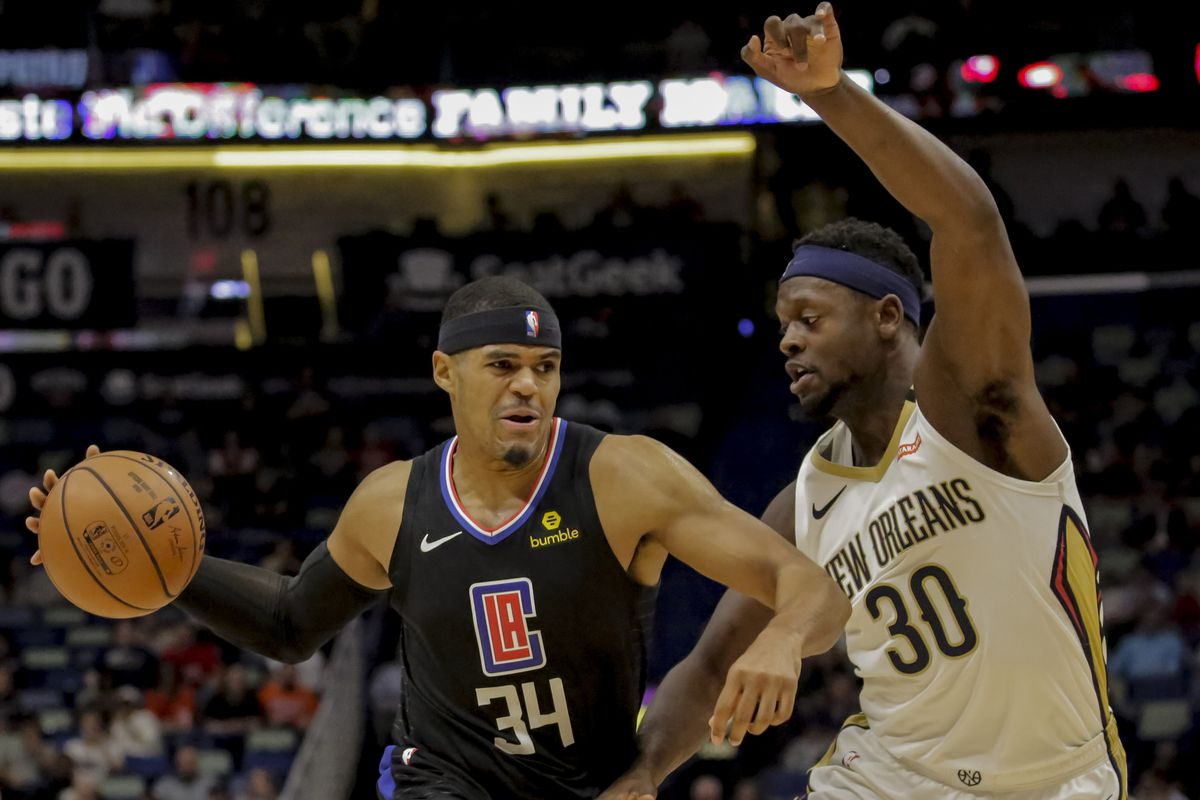finest selection 2a0dc ef003 2019 NBA Free Agency  Tobias Harris could quickly help bring to life a New  Orleans Pelicans formidable lineup around Zion and Jrue