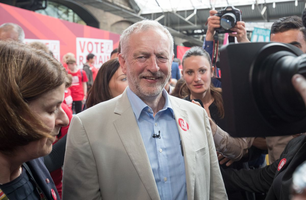 Labour In Rally For The Last Time In The EU Referendum Campaign