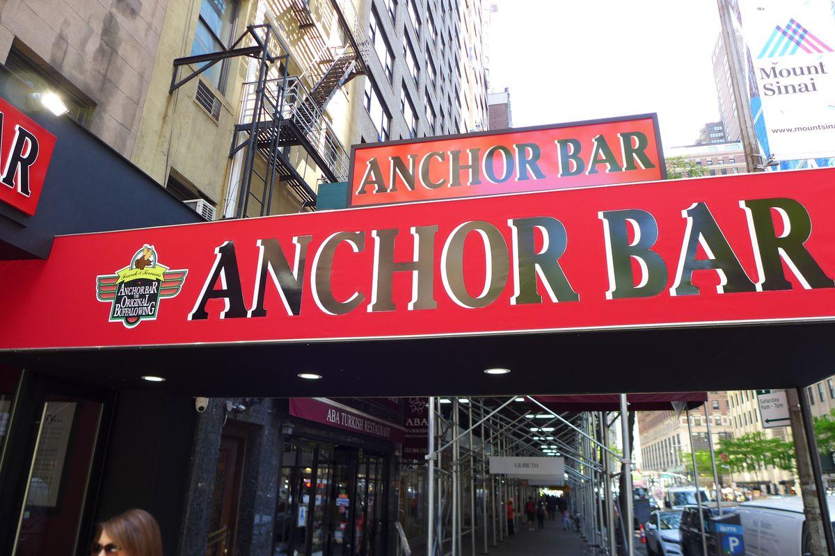 Anchor bar exterior sign