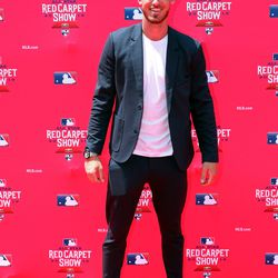 Cody Bellinger at the 2019 MLB Red Carpet Show.