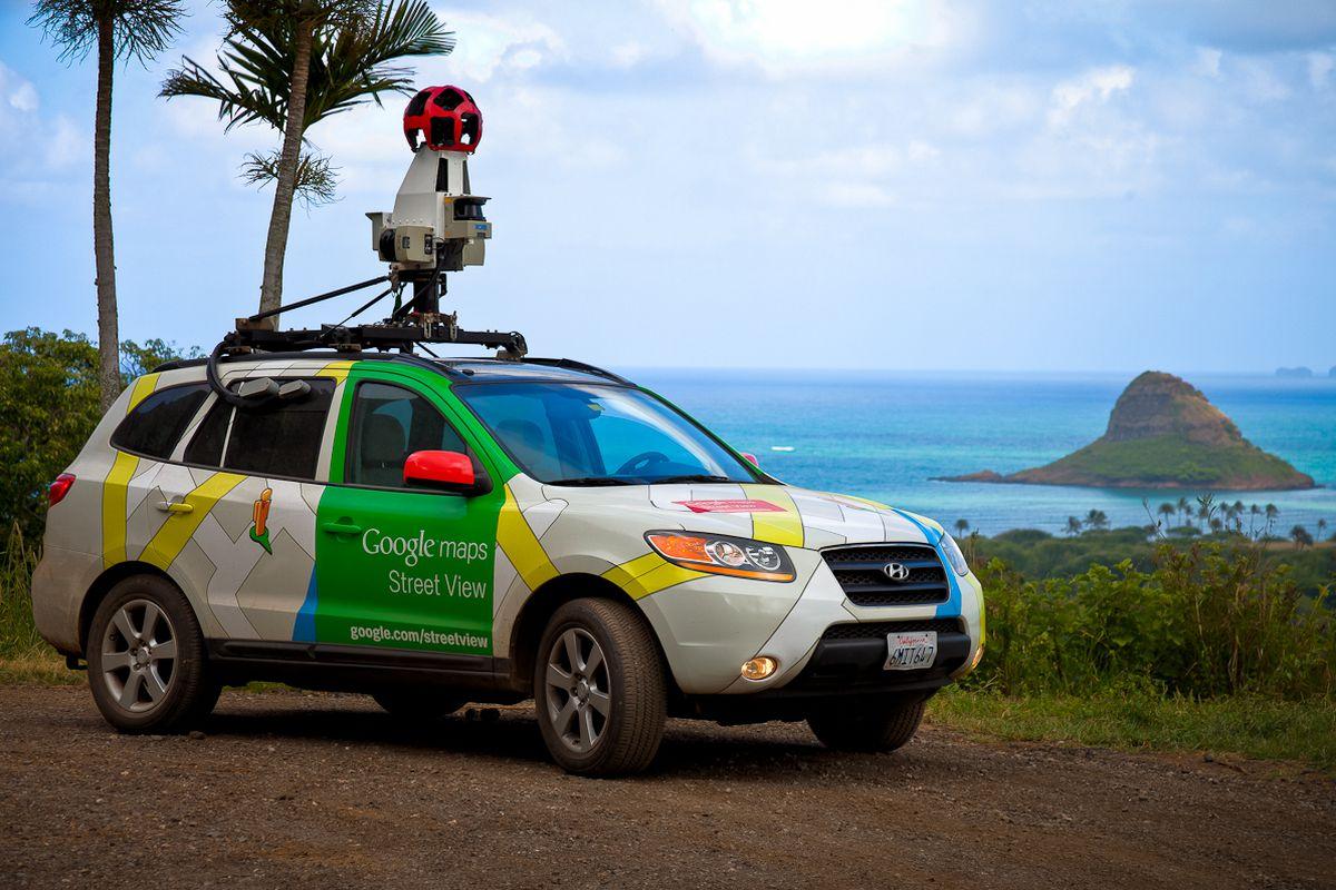 (GOOGLE PRESS) Street View Car Maps Hawaii