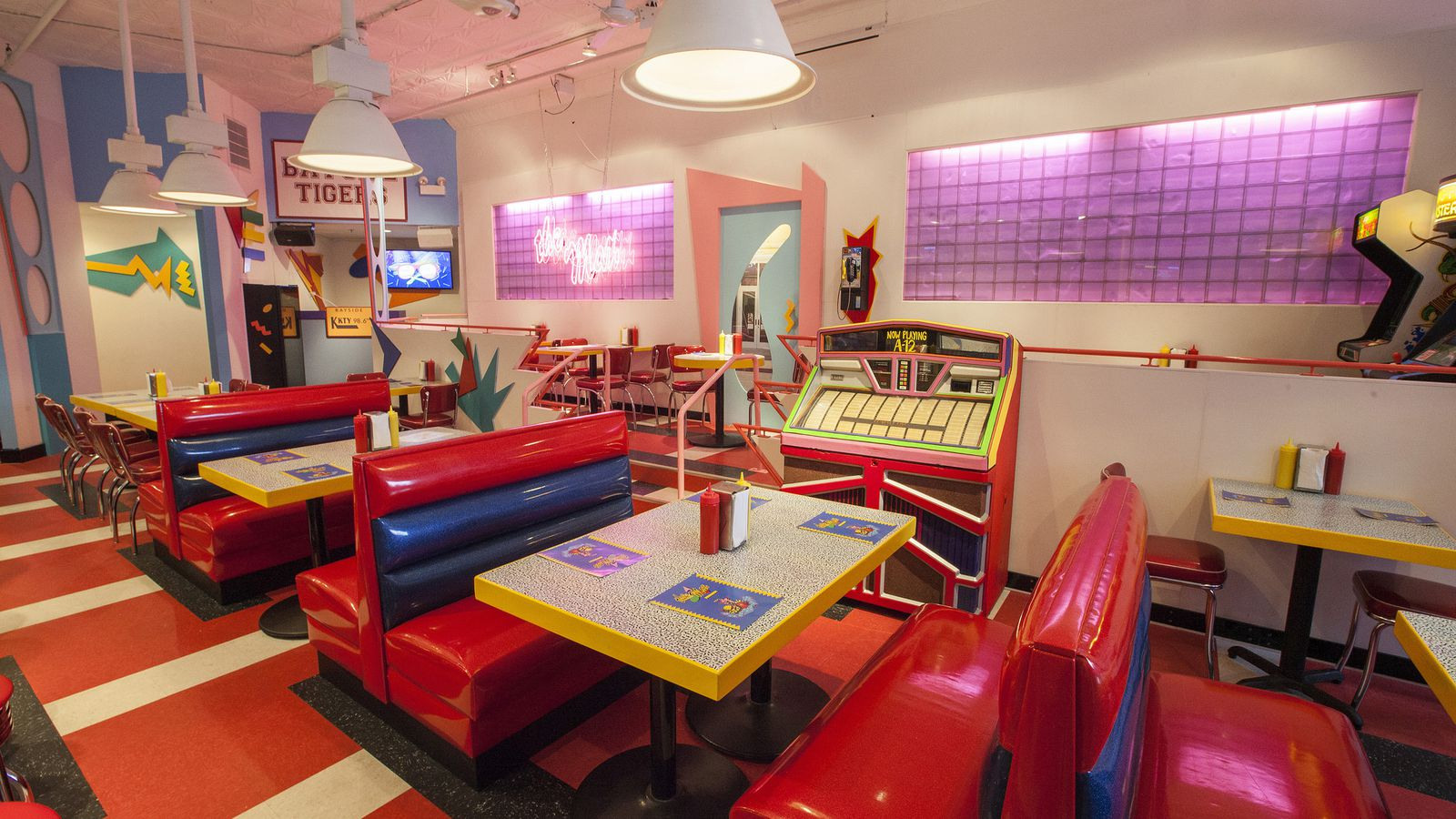 How The Saved By The Bell Pop Up Diner Arrived In