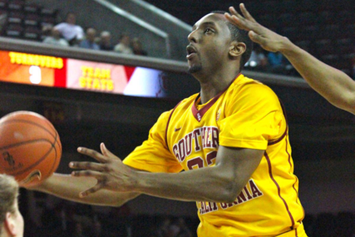 Byron Wesley tied a career-high.