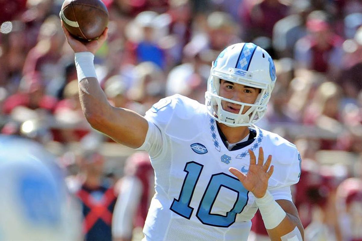 online retailer 151fa 8b7f9 Is North Carolina's Mitch Trubisky a Legitimate Heisman ...
