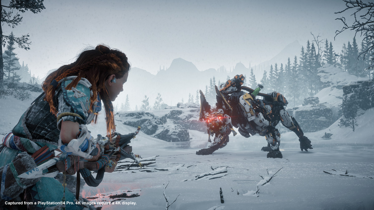 Horizon Zero Dawn The Frozen Wilds Review Polygon