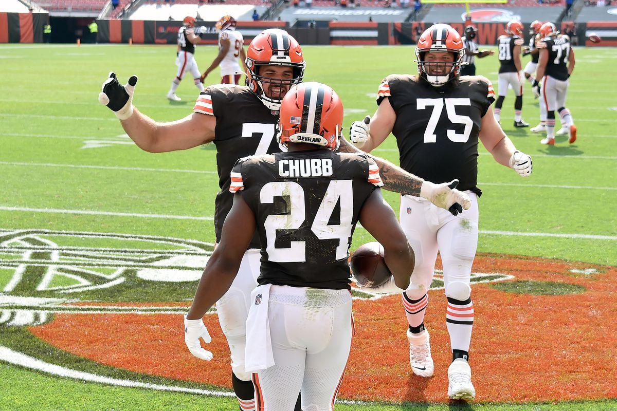 Washington Football Team v Cleveland Browns