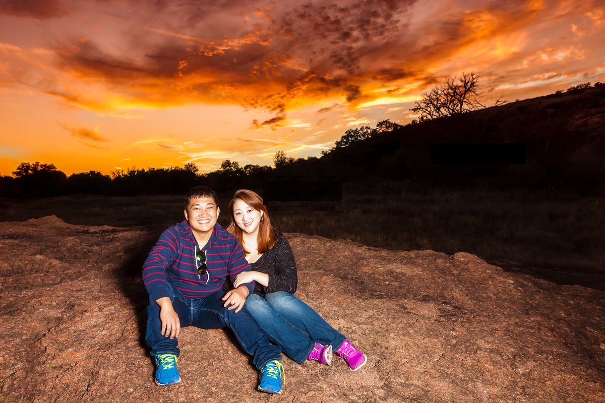 Anthony Kim and Teresa Kwon
