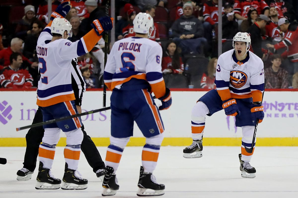 best authentic d22cb a95c3 The Islanders' power play woes require more Mathew Barzal ...