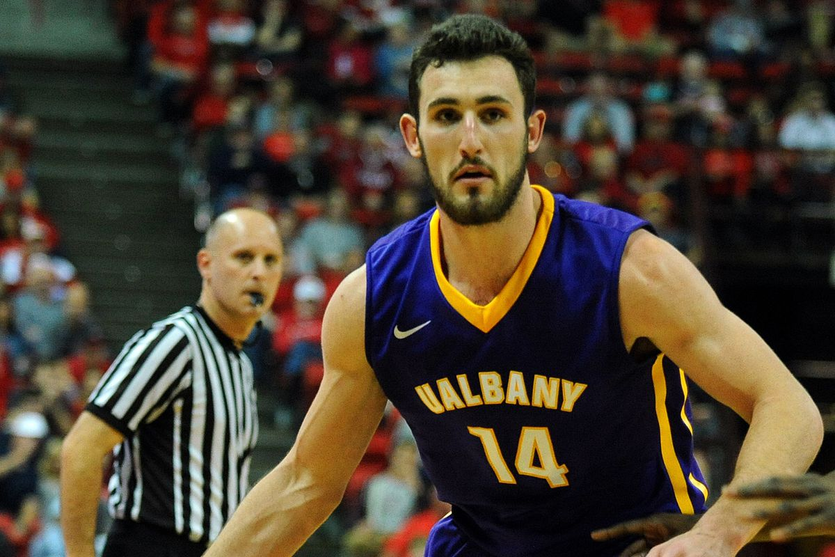 Sam Rowley and Albany are the top seed in the America East.