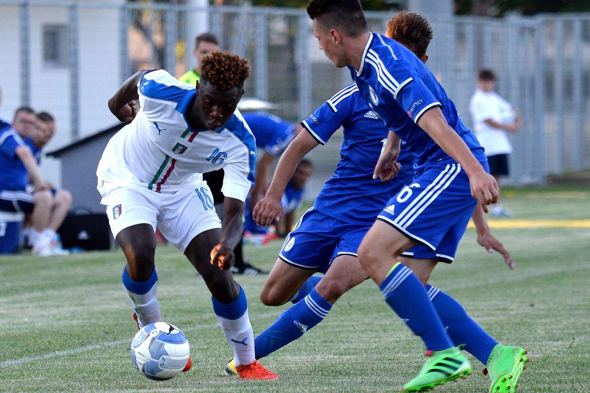 Italy U16 v Bosnia U16 _ International Friendly