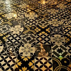The floor at Culinary Dropout.