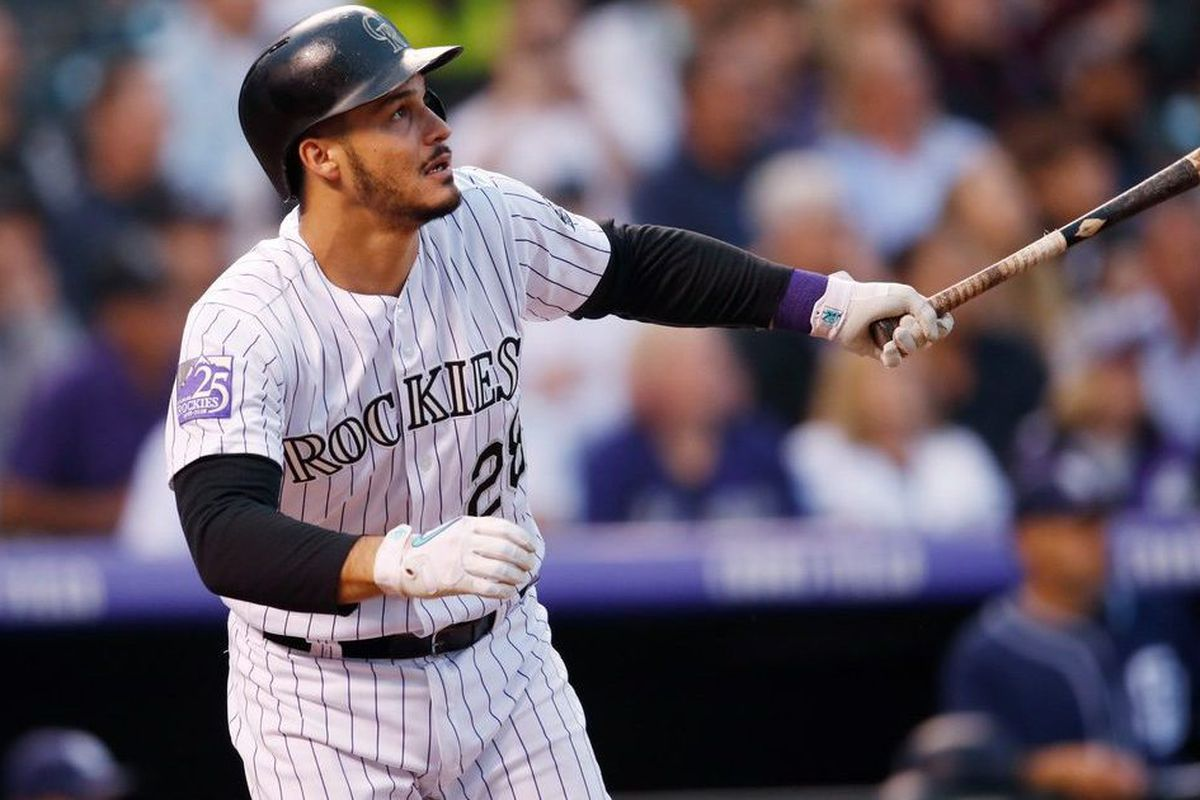 07299751c Nolan Arenado is signing a huge contract to stay with the Rockies.