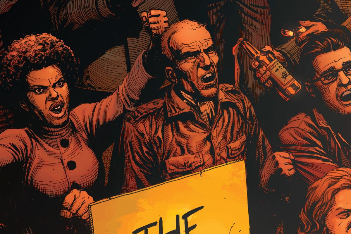 From the cover of Doomsday Clock #1 (2017), DC Comics
