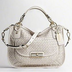 "Coach Spring '11: <a href=""http://www.coach.com/online/handbags/-handbags_silhouettes_satchels-10551-10051-5000000000000015033-en?t1Id=62&t2Id=5000000000000015033&tier=2&LOC=CC"" rel=""nofollow"">Kristin</a> Woven Leather Sage Round Satchel in Wh"