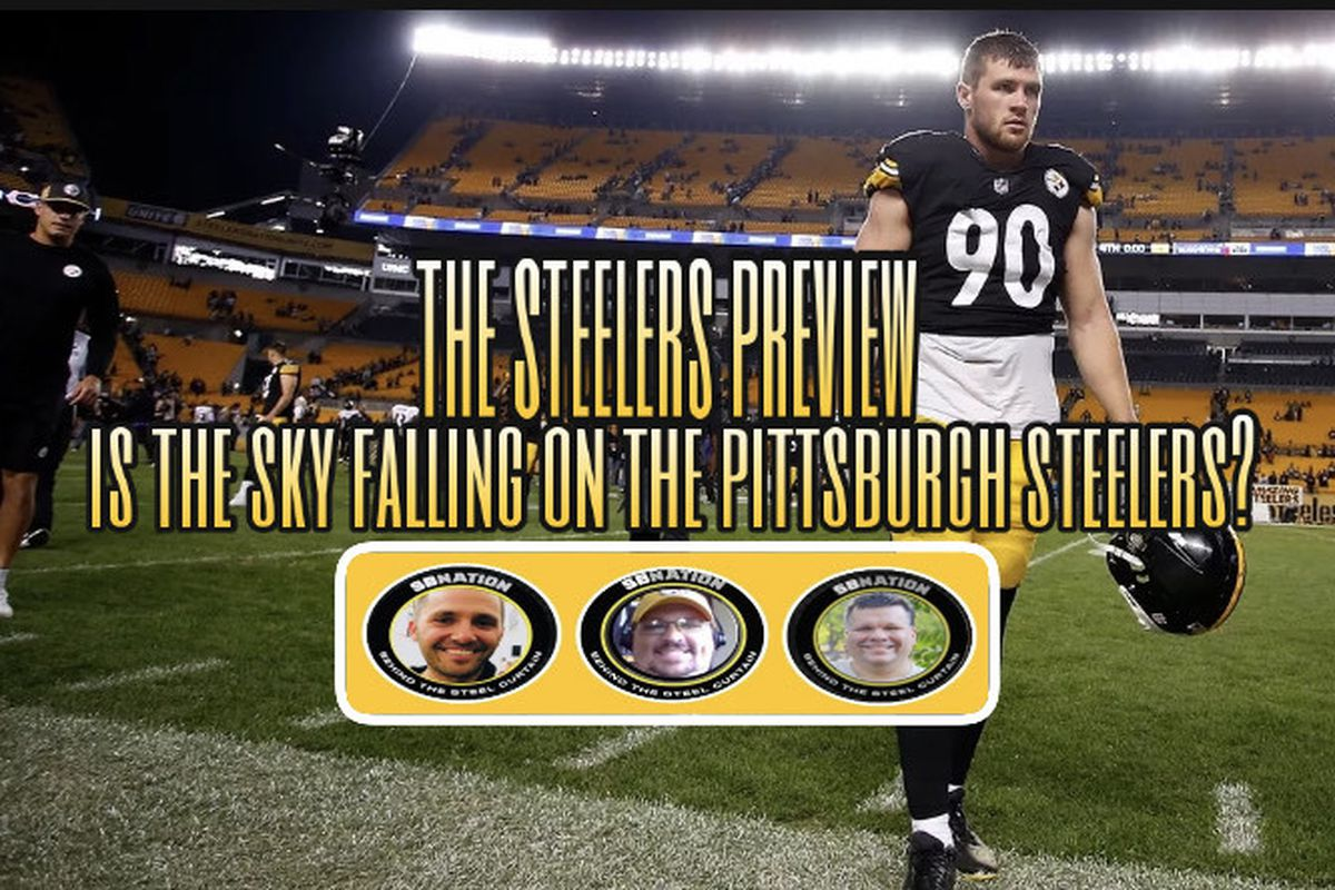 Is The Sky Falling For The Pittsburgh Steelers Behind The Steel Curtain