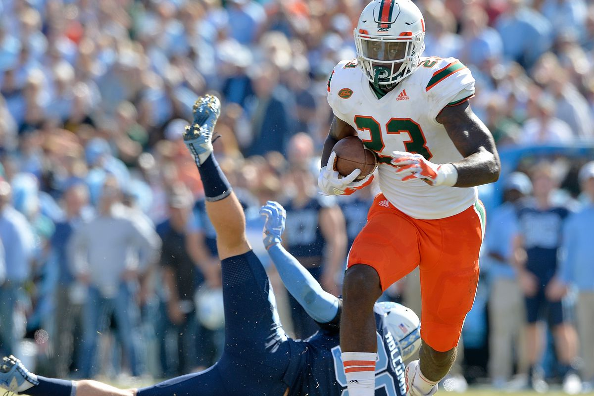 04d16fad89a5b8 Miami Hurricanes Matchup Preview: North Carolina - State of The U