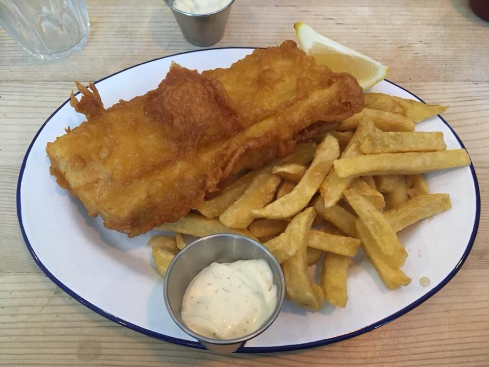 London's best seafood restaurants: Fish and chips at Fladda, one of five London restaurants to try this weekend