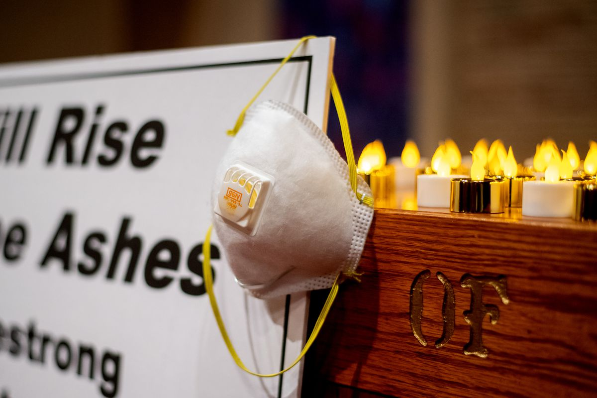 California Church Holds Vigil For Victims Of Deadly Camp Fire