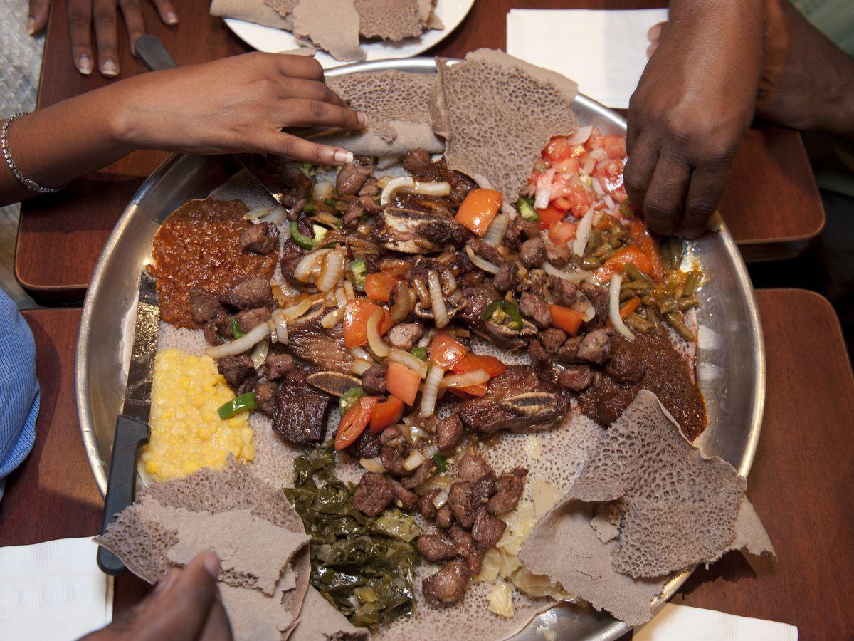11 Essential Ethiopian Restaurants Around D C  - Eater DC