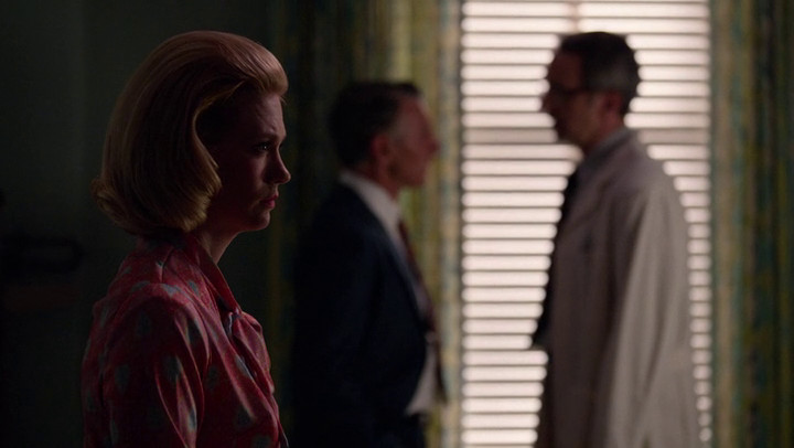 Betty makes a decision on Mad Men.