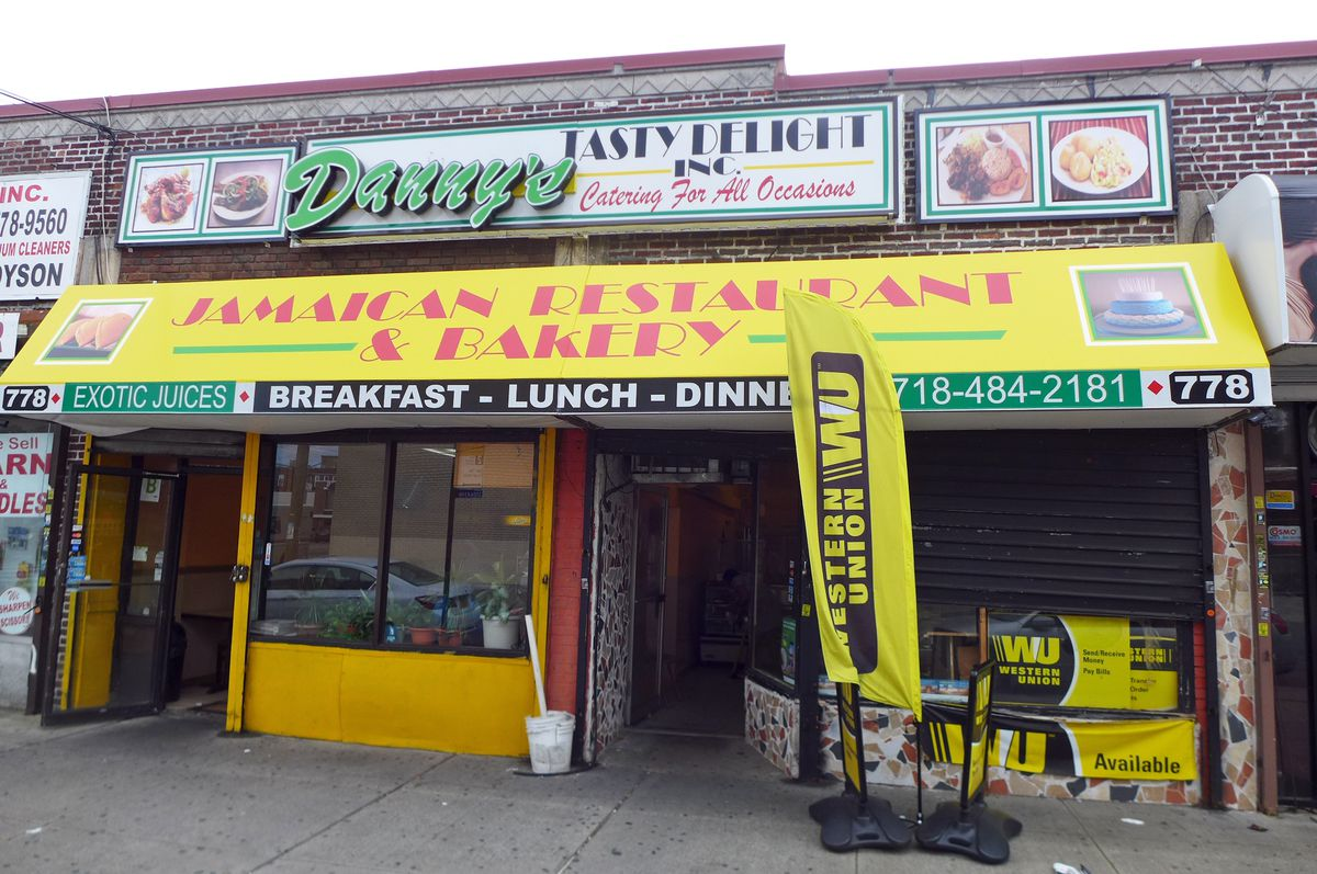 Your pit stop for a patty and coco bread in Flatbush
