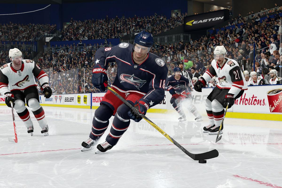 Pierre-Luc Dubois in NHL 18