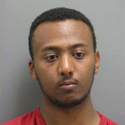 FILE - This undated file photo released by the Leesburg, (Va.) Police Department shows Yonathan Melaku, 22, of Alexandria, Va., after his May 2011 arrest in Loudoun County, Va. A succession of shootings in the middle of the night, each targeting Washington-area military buildings like the Pentagon and Marine Corps museum nearly two years ago, startled a Washington community constantly on edge about terrorism. The FBI's big break didn't come until June 2011, when Melaku was caught trespassing after dark in Arlington National Cemetery. That investigation is one of several into terrorism or hate crimes that is being honored Monday night, Sept. 24, 2012, at the annual Shield Award ceremony for the Anti-Defamation League, an organization that combats bigotry and anti-Semitism.