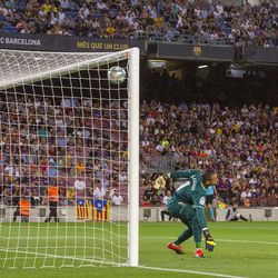 There was no stopping Arthur's goal against Villarreal back in September