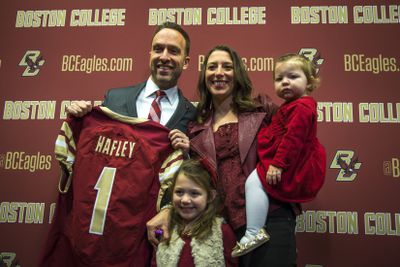 New Boston College Football Head Coach Jeff Hafley