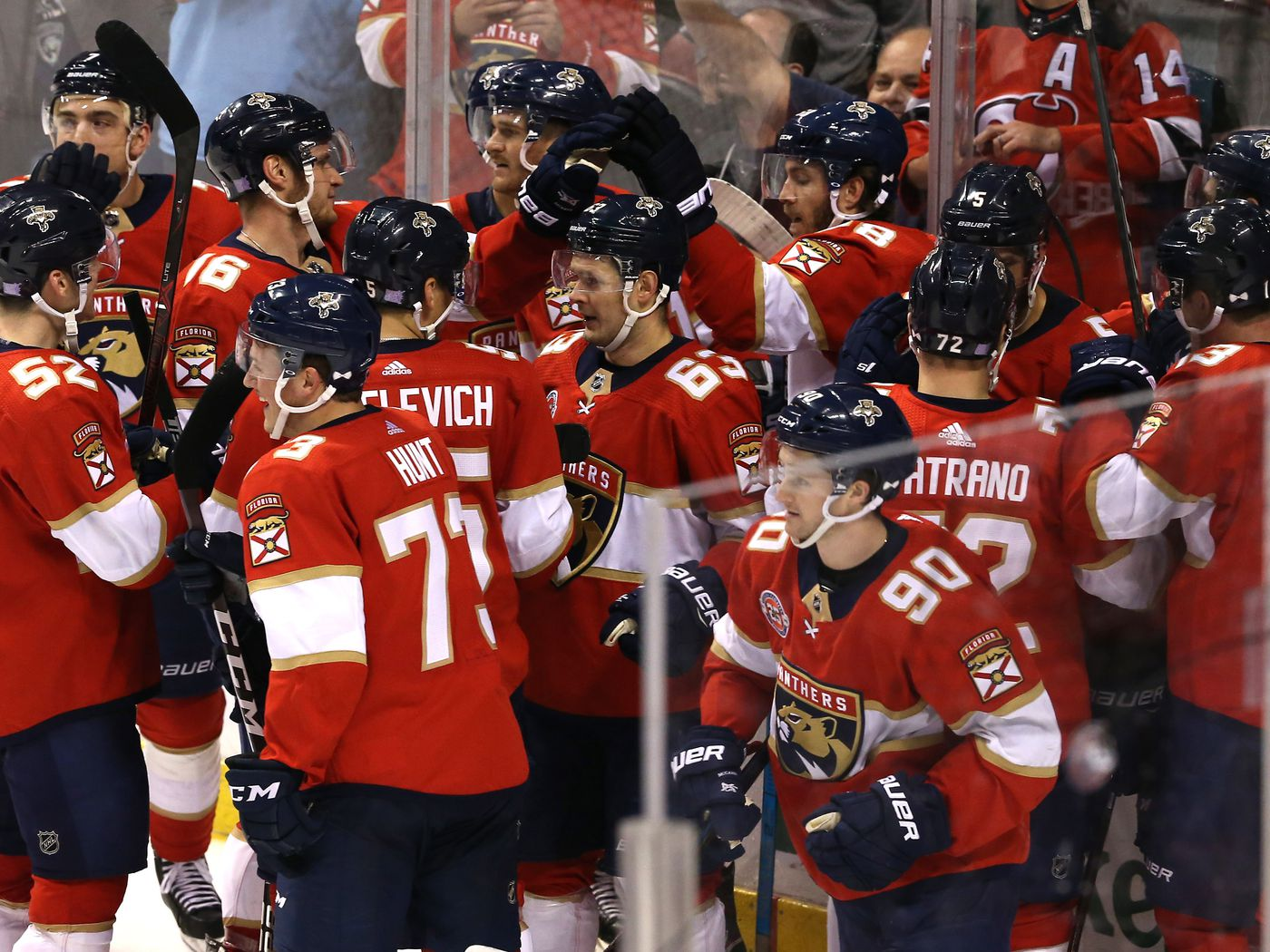a6121aeb7c6 Recap  Hoffman goal gives Panthers 4-3 overtime win over Devils. New ...