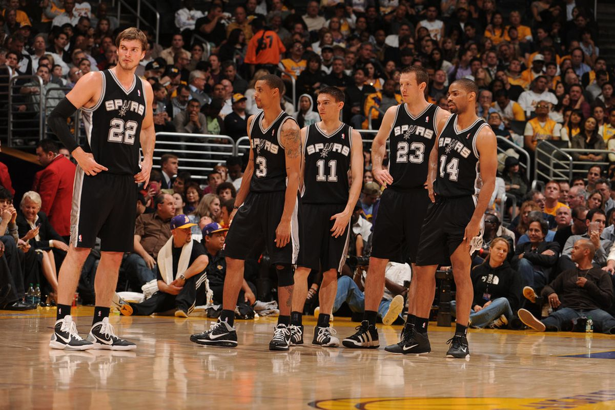 I believe in these guys.  Copyright 2011 NBAE (Photo by Andrew D. Bernstein/NBAE via Getty Images)
