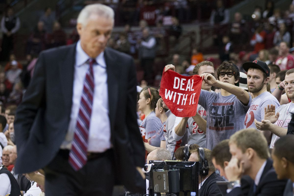 Bo Ryan did not, in fact, deal with it.