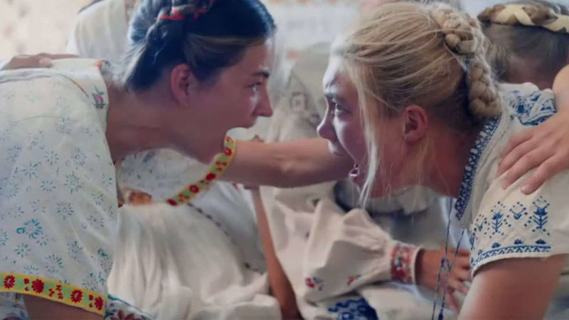 A scene from Midsommar.