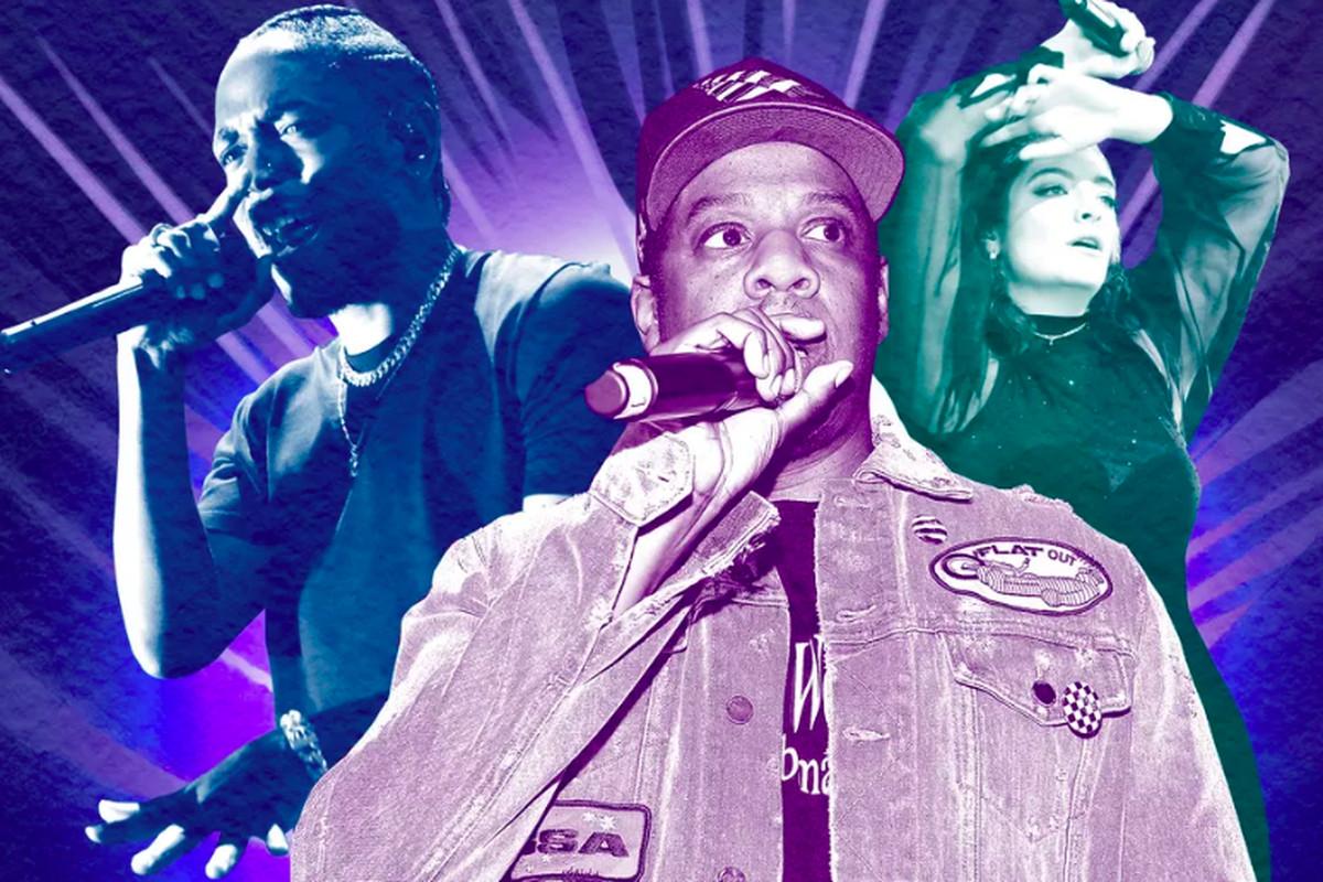 Kendrick Lamar, Jay-Z, and Lana Del Rey