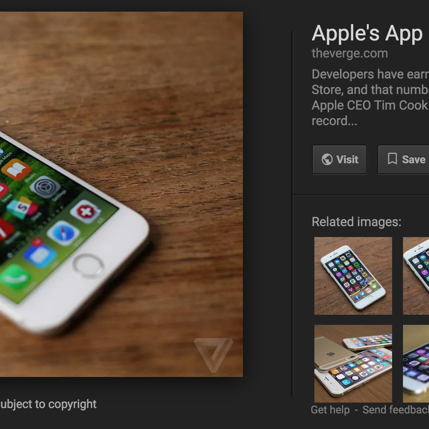 Google removes 'view image' button from search results to make pics