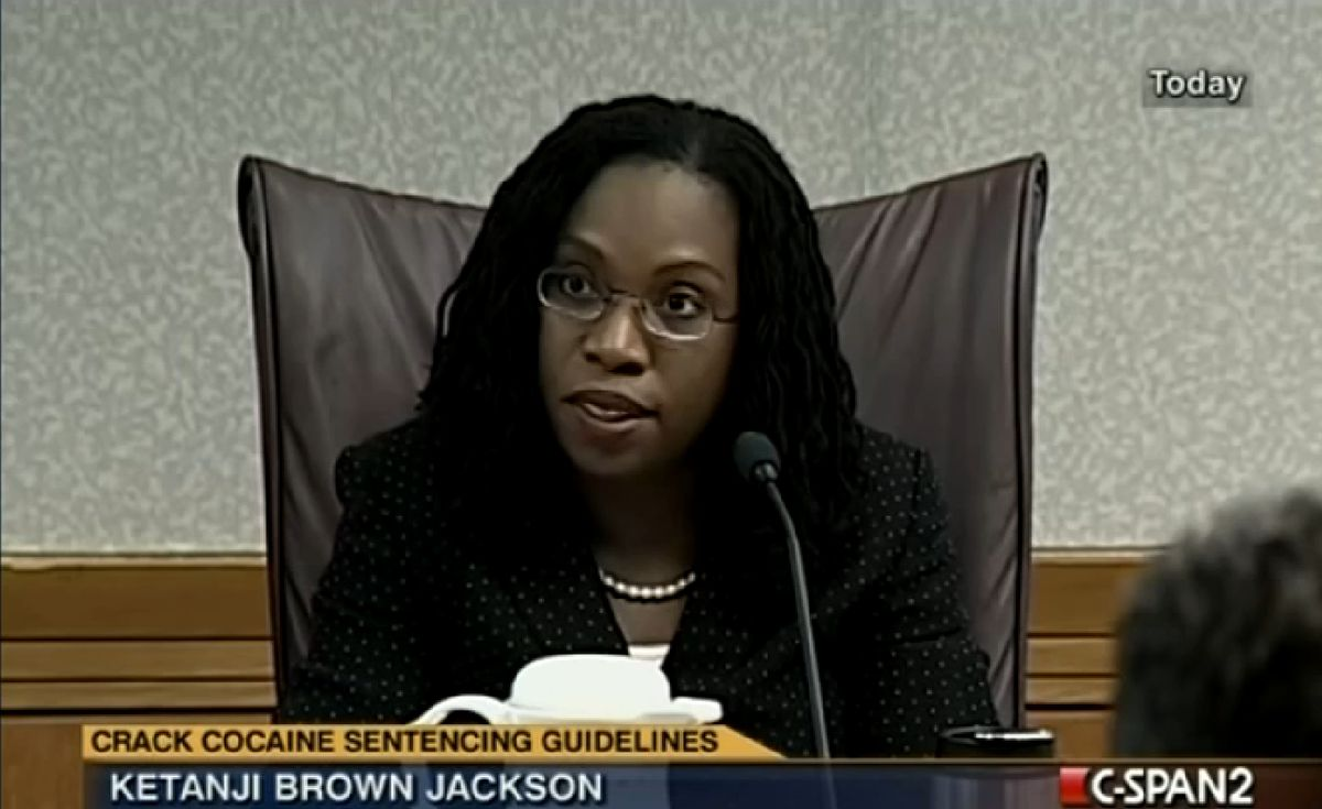 Judge Brown Jackson at a  2011 event