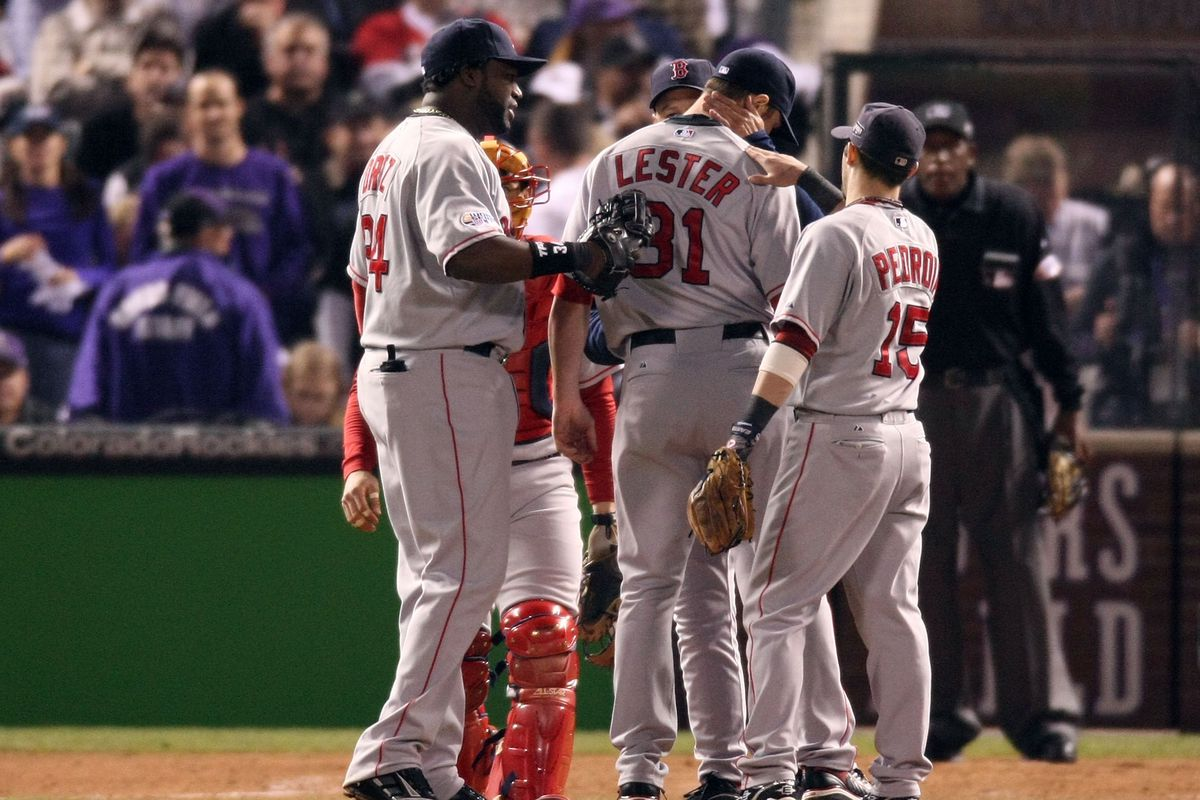 World Series: Boston Red Sox v Colorado Rockies - Game 4