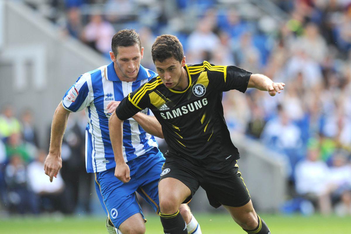 Soccer - Pre-Season Friendly - Brighton and Hove Albion v Chelsea - AMEX Stadium