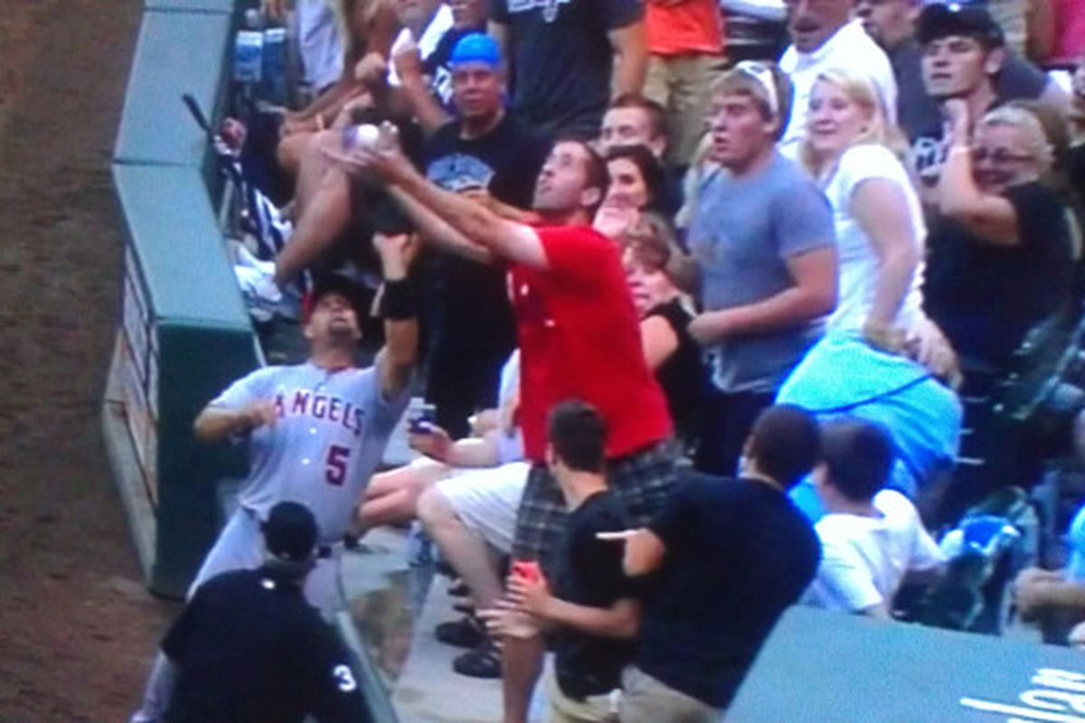 The South Side Sox Fan of the Game.